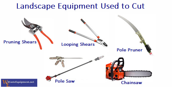 Landscaping tools and equipment list for Garden maintenance tools